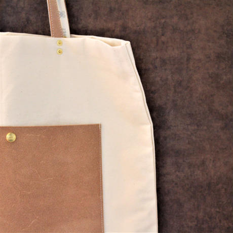 THE CANVET UNIVERSAL TOTE BAG-POCKET-
