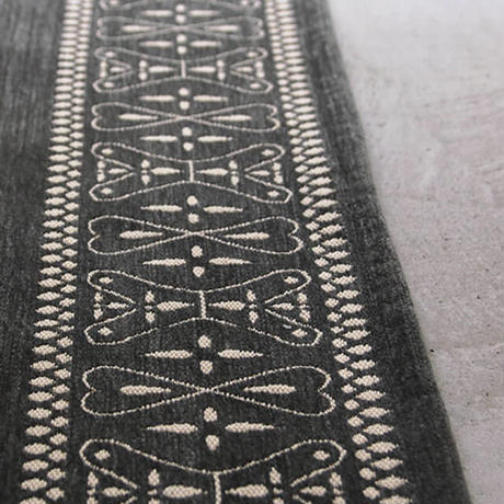 Cross bandana rug GRAY