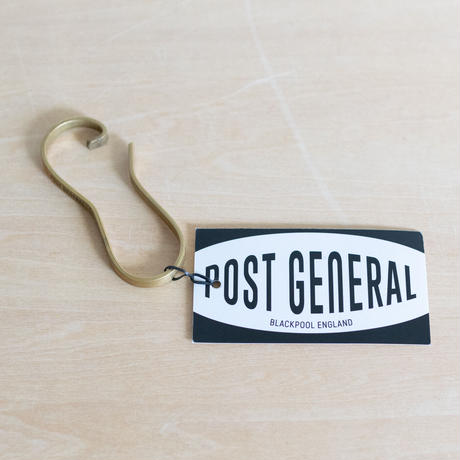 POST GENERAL BRASS HOOK & CORDREEL