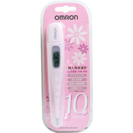 オムロン 婦人用電子体温計 MC-6830L 妊活情報はぴたま付き