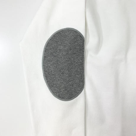 """OUESSANT """"ELBOW PATCH""""  [ NEIGE.GRIS (WHT) (88-WHGY)] OUESSANTEP"""