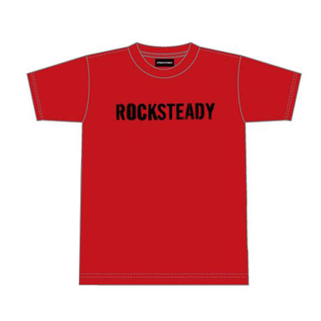 ROCKSTEADY Tee Designed by Tsutomu Moriya(ila)Red