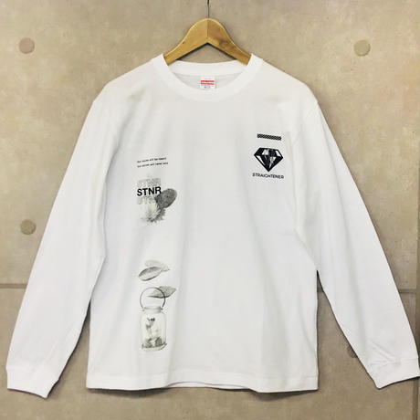 Applause TOUR Long Sleeve Tee WHITE