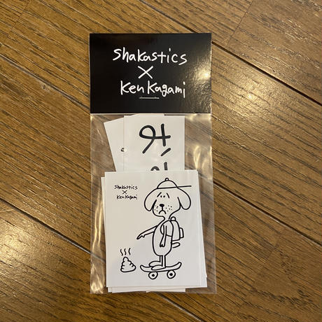 shakastic×kenkagami ステッカーセット