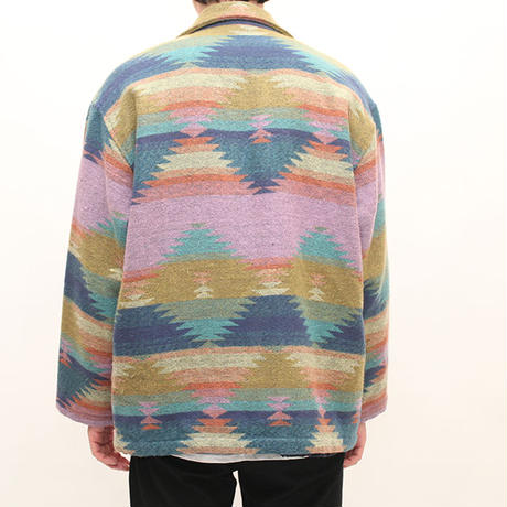 Native Pattern Wool Jacket