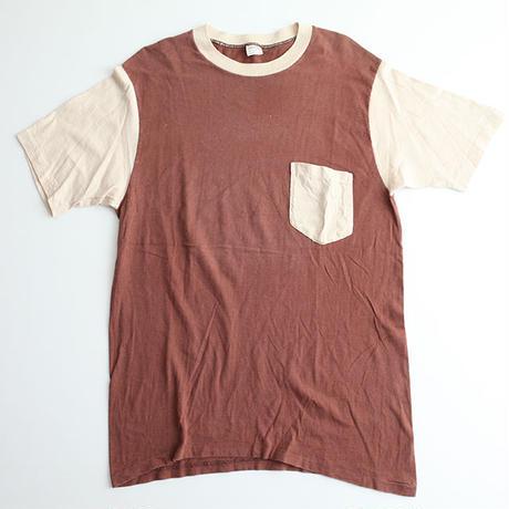 タウンクラフト 2トーンポケットTシャツ Town Craft Pocket T-Shirt