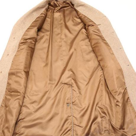 Mohair × Wool Long Coat