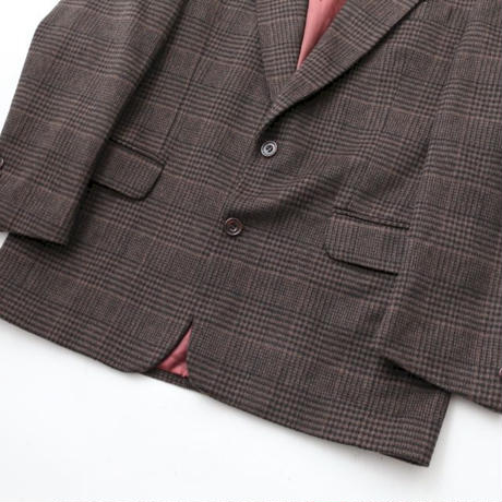 Checker Tailored Jacket