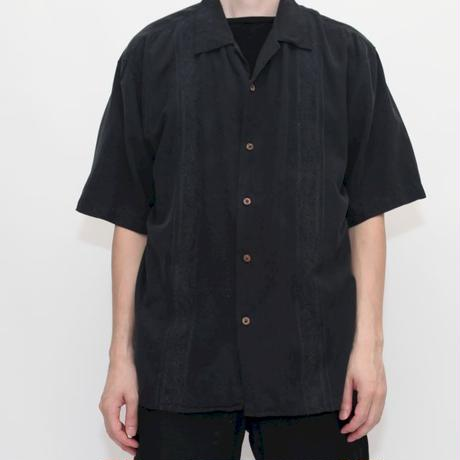 Vintage Silk Embroidery S/S Shirt