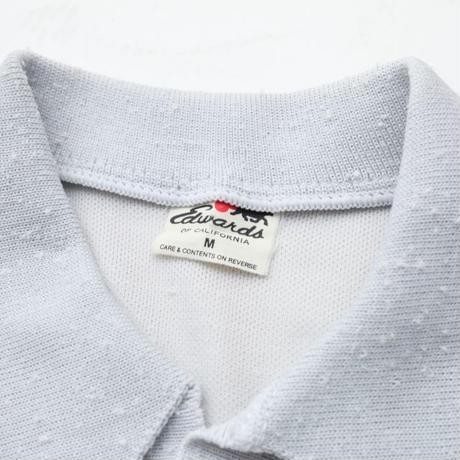 Vintage Knit Polo Shirt