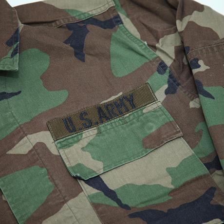 カモ柄 ミリタリーシャツ MIlitary Shirt