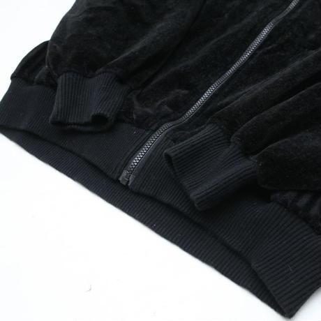 Black Velour Jacket
