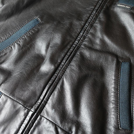80s Members Only Leather Jacket