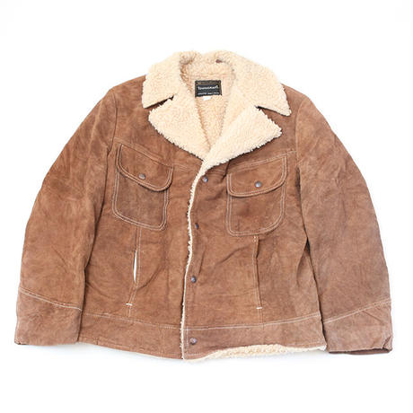 Towncraft Suede Boa Jacket