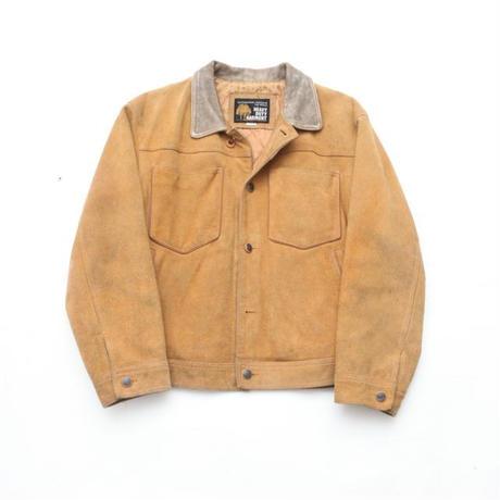 Suede Leather Trucker Jacket