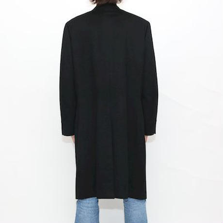 Pure  Cashmere Coat Black