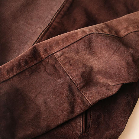 Suede Leather Jacket Made in England