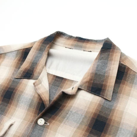 Rayon Ombre Check L/S Shirt