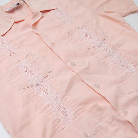 キューバシャツ ピンク Cuba S/S Shirt