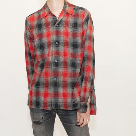 50s Vintage Wool  Shirt