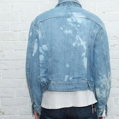 Vintage Bleach Deim Jacket