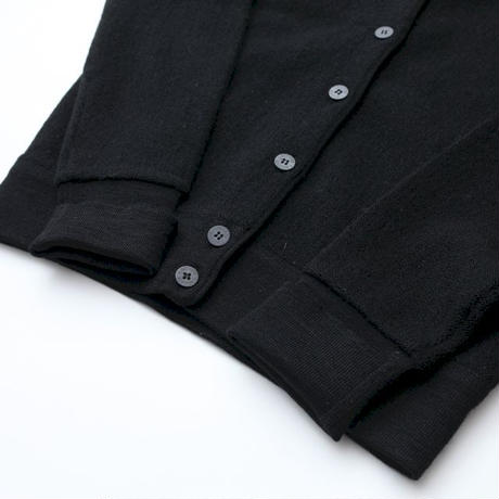 Lacoste Black Knit Cardigan