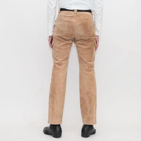 Vintage Suede Leather Pants