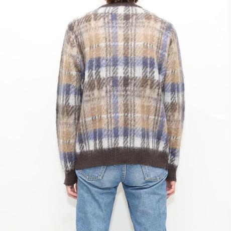 Long Hair Knit Sweater
