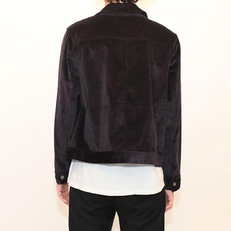 Purple Velor Jacket