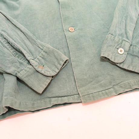 50s Vintage Corduroy L/S Shirt