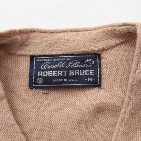 Arnold Palmer By Robert Bruce Knit Cardigan