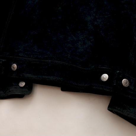 Black Suede Trucker Jacket