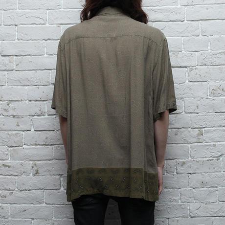Silk Paisley S/S Shirt