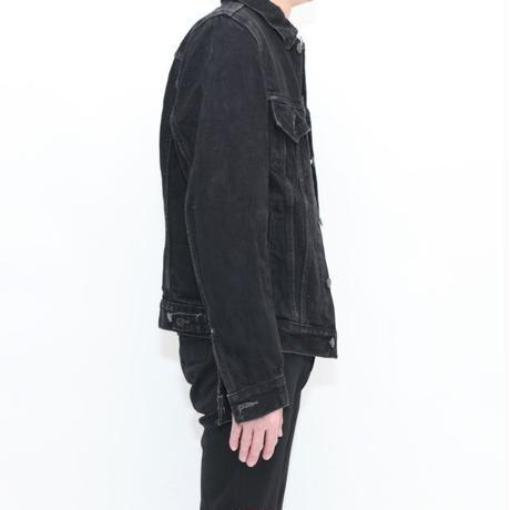 Levis Black Denim Trucker Jacket