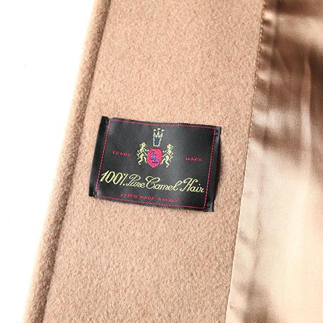 All Camel Wool Long Coat