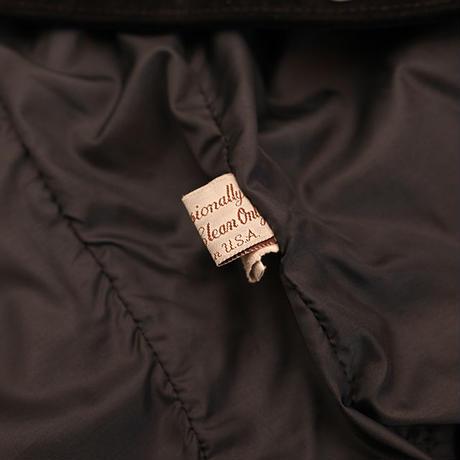 Black Suede Fringe Leather Jacket