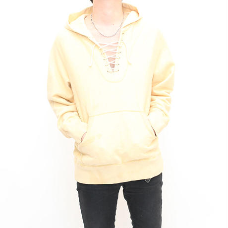 Lace-up Sweat Hoodie