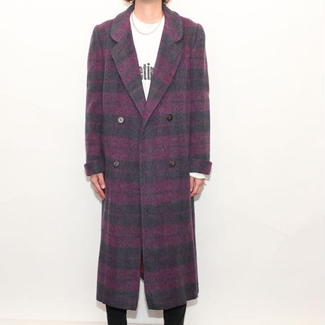 Border Wool Coat