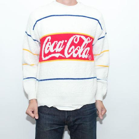 Vintage Coca Cola Sweater コーラ柄セーター