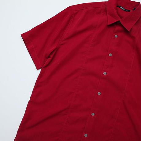 ポリエステル 無地シャツ Polyester S/S Shirt