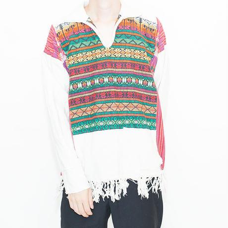 Ethnic Pattern L/S Shirt