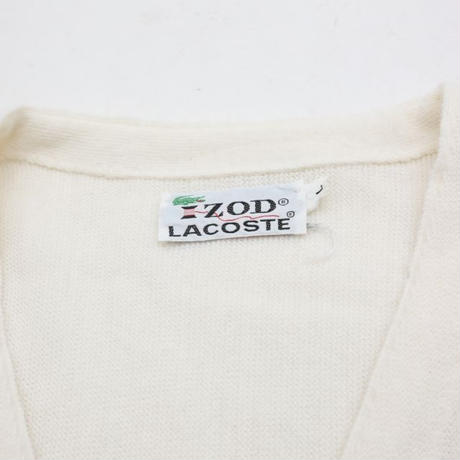 70's IZOD LACOSTE Knit Cardigan