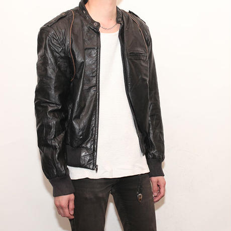 80s Leather Jacket
