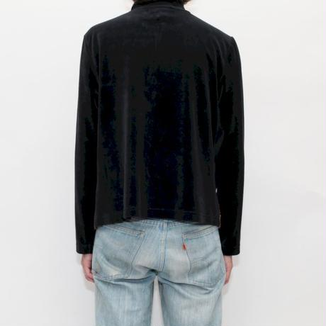 Embroidery Velour Jacket