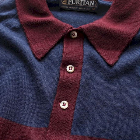 PURITAN Knit Polo L/S Shirt