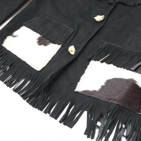 Vintage Slunk Leather Jacket