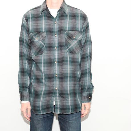 Ombre Check Acrylic L/S Shirt