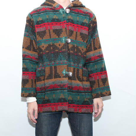 Native Wool Hoodie Jacket