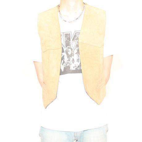 Vintage Leather Vest Reversible