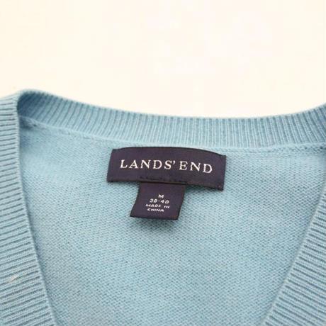 Cashmere V-Neck Knit Sweater
